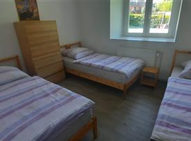 Apartmán II 3.lůžkový pokoj