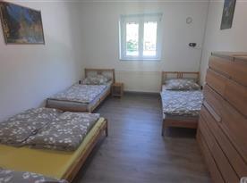 Apartmán II 4.lůžkový pokoj