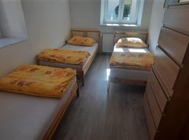 Apartmán I 3.lůžkový pokoj