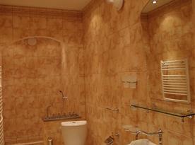 Toaleta v přízemí