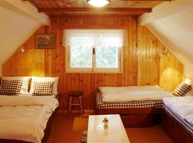 Velká ložnice v prvním patře