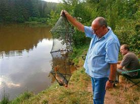 Rybník k rybaření