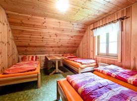 Druhá ložnice se 4 lůžky