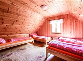 První ložnice se 4 lůžky