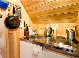 Malý kuchyňský koutek