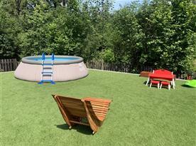 Venkovní bazén pr.3,6m