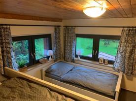 Pokoj 2 pro 3 osoby (patrová postel + postel)