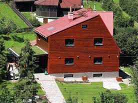 Chata Lomná - ubytování  Dolní Lomná
