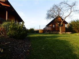 Relaxační chata s finskou saunou a finskou kádí