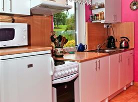 Chata B - kuchyně