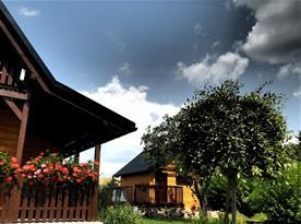 Relaxační chata s finskou saunou a kádí