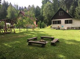 Chata Tomáš - ubytování  Borovany