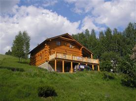 Chata Srub Kraličák - ubytování Staré Město pod Sněžníkem