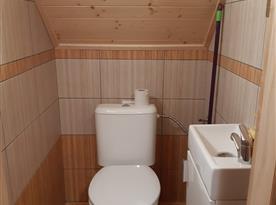 WC v patře.