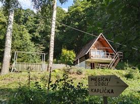 Chata V Bílých Karpatech - ubytování  Radějov