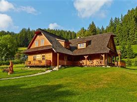 Chalupa Valašské chalupy na Podťatém - ubytování  Velké Karlovice