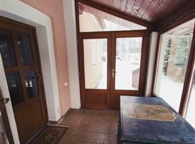 Vstup, veranda
