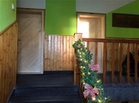 Vánoční schodiště do 1. patra