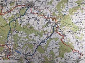 Turistická mapa okolí