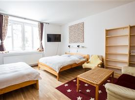 Ložnice - apartmán č. 2