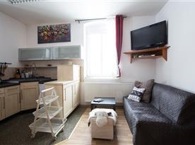 Kuchyň - apartmán č. 1