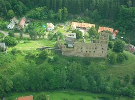 hrad Krakovec do cca 3km