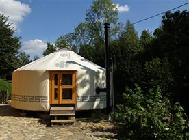Chata Jurta Kojovec - ubytování  Dlouhá Třebová