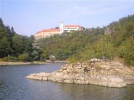 Pohled na hrad Bítov