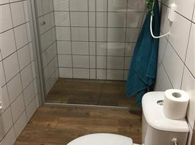 Koupelna v pokojích a apartmánech