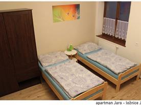 Apartmán Jaro - ložnice 1