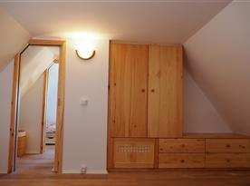 Úložné prostory v podkroví