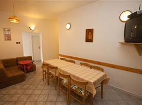 Apartmán  č.1 -  hala