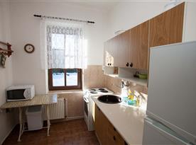 Apartmán č.1 - kuchyň