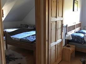 Pokoje v patře