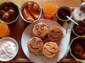 Po domluvě možné snídaně