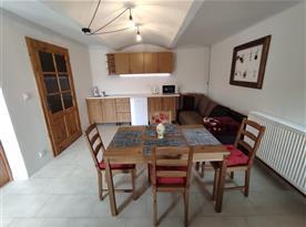 Apartmán č. 2 - kuchyně