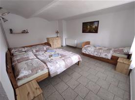 Apartmán č. 2 - ložnice