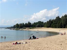 Polska Copacabana  - Niské jezero - 20 min
