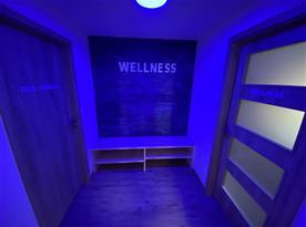 Wellness s infrasaunou a vířivkou