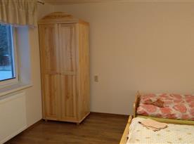 Apartmán prízemie, spálňa
