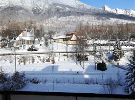 Výhľad na Vysoké Tatry - zima