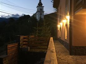 Pohled od domu
