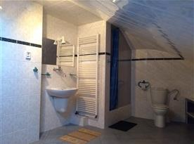 Sdílená koupelna s toaletou