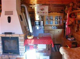 Propojení kuchyně s obytnou místností