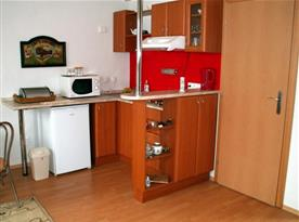 Čtyřlůžkový apartmán - kuchyně