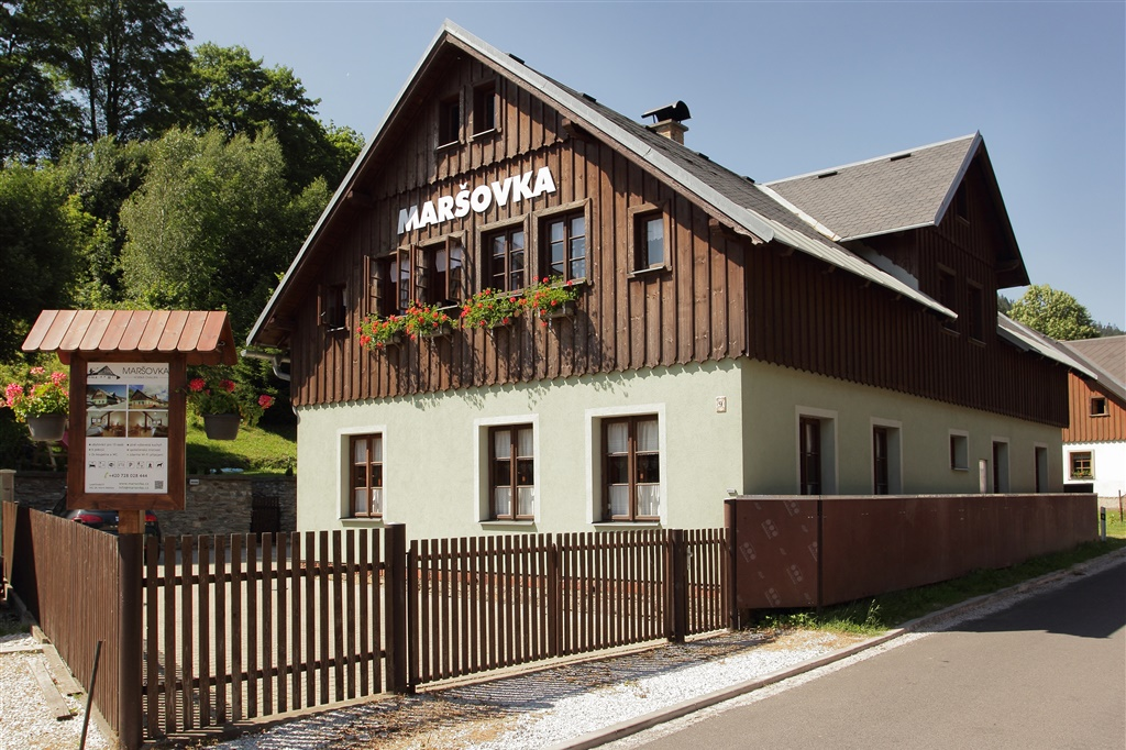 Chalupa Maršovka - ubytování  Horní Maršov -Horní Maršov