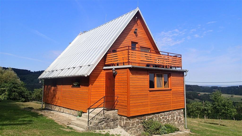 Chata Pod Mikulčákem - ubytování  Vápenice -Vápenice