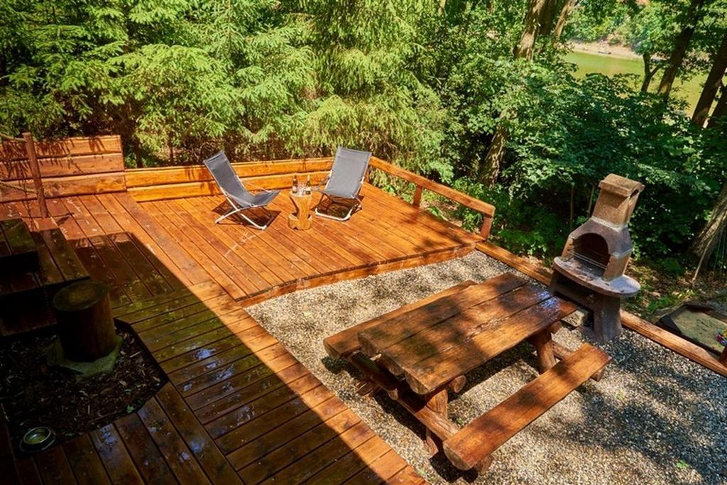 Chata Wellness srub - ubytování  Vranov nad Dyjí