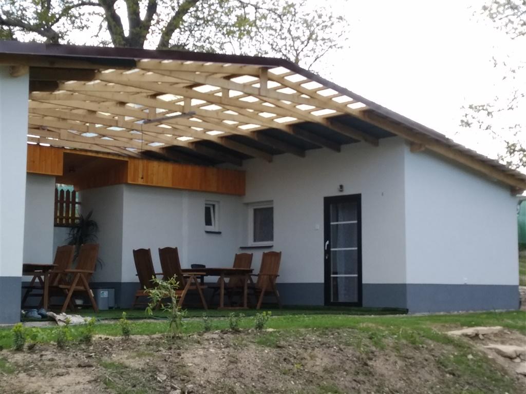 Chata U vodní nádrže Rozkoš - ubytování  Chvalkovice -Chvalkovice