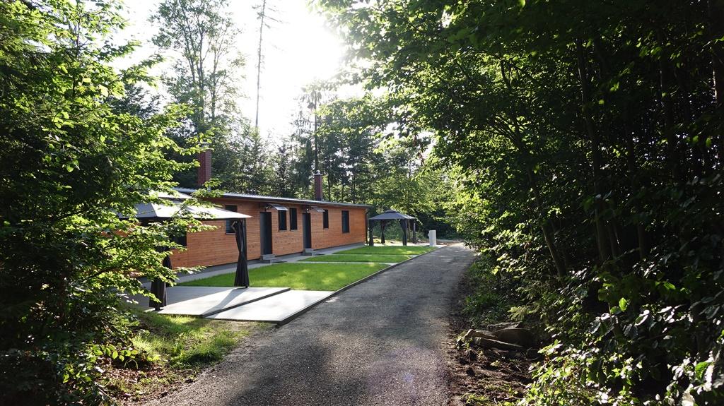Chata Lesní Lázně Muna - ubytování  Mikulovice